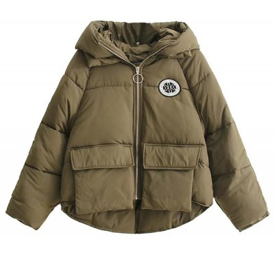 High Low Puffer Jacket
