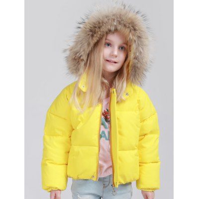 Zip Up Faux Fur Padded Jacket