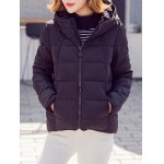 Hooded Zip Up Puffer Jacket