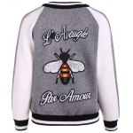 cheap Embroidery Sweater Souvenir Jacket