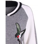Embroidery Sweater Souvenir Jacket deal