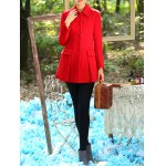 Slimming Long Wool Coat for sale