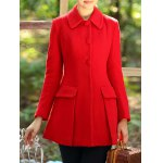 Slimming Long Wool Coat