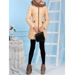 Fur Hooded Collar Down Jacket for sale