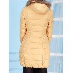 Fur Hooded Collar Down Jacket deal