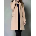 Single Breasted Lapel Cashmere Coat deal
