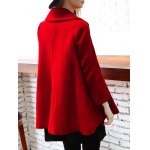 Woolen Double Breasted Skirted Coat for sale