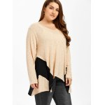 Plus Size Ribbed Smock T-Shirt deal