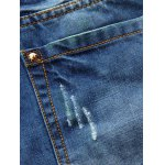 best Zip Fly Slim Fit Jeans with Extreme Rips