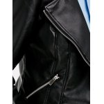 best Faux Leather Zippered Biker Jacket
