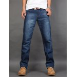 Straght Leg Zip Fly Jeans