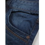 Straight Leg Zip Fly Jeans for sale