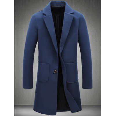 Patch Pocket Two Button Coat