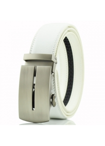 Letter U Automatic Buckle PU Belt
