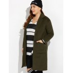 Thicken Wool Coat with Pockets deal