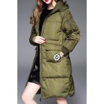 Twin Pocket Hooded Down Coat deal
