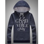 Lace Up Pocket Front Graphic Hoodie