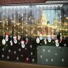 Removable DIY Snowman Pendants Christmas Wall Stickers for sale