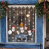 Merry Christmas Snowman Decorative Wall Stickers photo