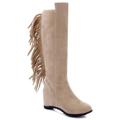 Fringe Increased Internal Boots
