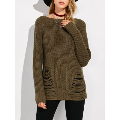 Chunky Ripped Sweater