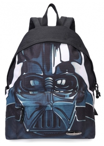 Casual Canvas Printed Backpack