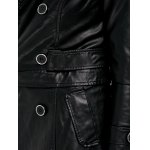 Convertible Faux Leather Jacket photo
