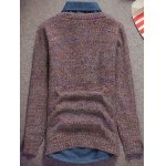 Knit Crew Neck Pullover Sweater deal