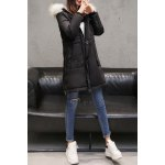 Patched Hooded Down Coat deal
