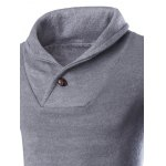 Shawl Collar Pullover Sweater deal