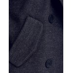 best Lapel Collar Double Breasted Coat