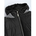 Contrast Knit Padded Jacket deal
