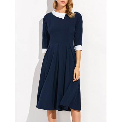 Lapel Dress
