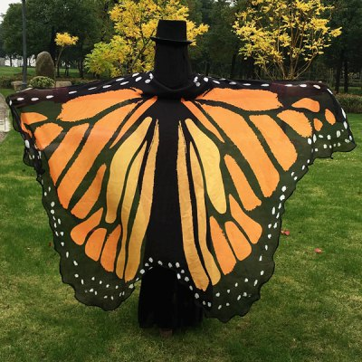 Butterfly Wing Cape Scarf