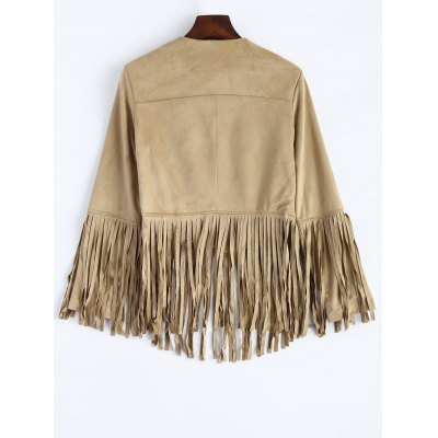 fringed-faux-suede-open-front-jacket