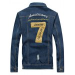 cheap Embroidered Design Jean Jacket