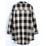 Plus Size Plaid Blouse deal