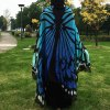 cheap Butterfly Wing Cape Scarf