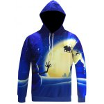 Snowman Print Pullover Christmas Patterned Hoodies