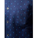 Long Sleeve Square Printed Pocket Shirt for sale
