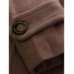 best Pocket Button Tab Cuff Pea Coat