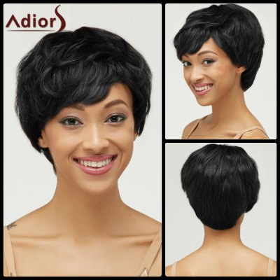 Short Haircut Curly Pixie Cut Synthetic Wig