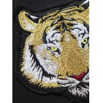 Tiger Embroidered Jacket and Zip Pocket Pants Twinset photo