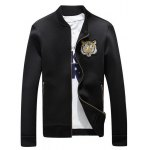 cheap Tiger Embroidered Jacket and Zip Pocket Pants Twinset