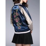 Embroidery Zip Up Souvenir Jacket deal