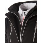 Color Block Zippers Faux Twinset Hoodie for sale