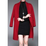 Double Button Wool Coat with Pockets
