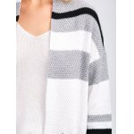 Crochet Pattern Striped Cardigan With Pocket for sale