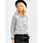 Batwing Sleeve Crew Neck Sweater deal