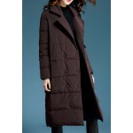 Double Breasted Oversized Long Down Coat deal